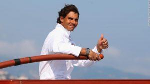 Rafael Nadal's secret weapon? The sea