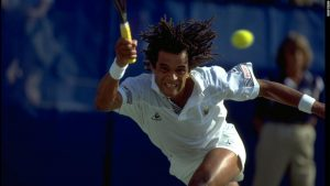Yannick Noah feels the 'love' of Roland Garros