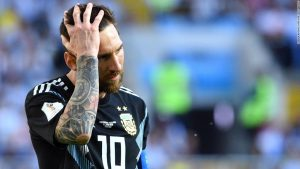 Iceland keeps Argentina and Messi at bay