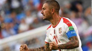Stunning Kolarov free kick gives Serbia victory