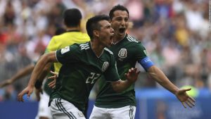 Mexico shock holders Germany