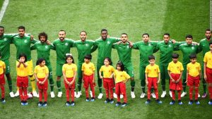 Saudi World Cup players land safely after apparent engine fire
