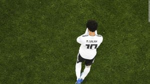 Salah scores but Russia thumps Egypt