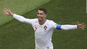 Ronaldo makes more history as Portugal win