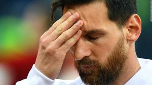 Messi and Argentina stunned by Croatia