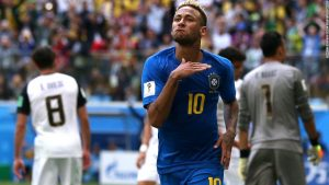 Coutinho and Neymar spare Brazil's blushes