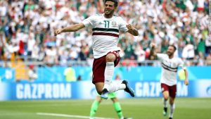 Mexico on brink of last 16 after confident win