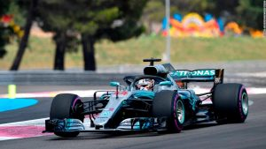 Hamilton profits from rivals' crash at French GP