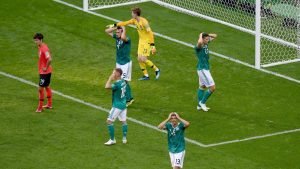 Germany crashes out of World Cup