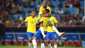 Brazil wins to set up last-16 tie against Mexico