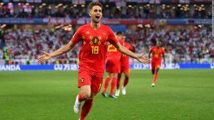Belgium beats England thanks to Januzaj stunner