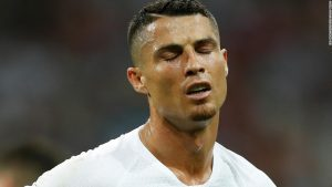 Ronaldo's World Cup ends as Uruguay beats Portugal