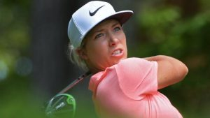 US Women's Open: England's Mel Reid three off the lead in Alabama