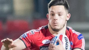 Niall Evalds: Salford Red Devils full-back's injury confirmed as broken leg