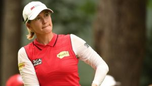 US Women's Open: Australian Sarah Jane Smith leads as bad weather stops play