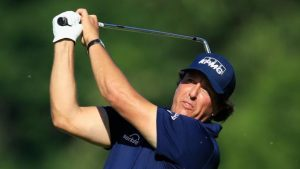St. Jude Classic: Phil Mickelson & Brooks Koepka trail first round leader Seamus Power by one shot in Memphis