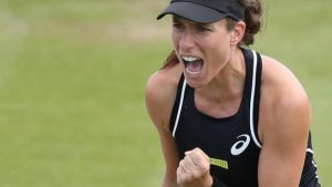 Nature Valley Open: Johanna Konta beats Heather Watson, Katie Boulter defeats Sam Stosur