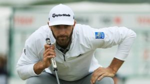 US Open: Dustin Johnson leads, Tommy Fleetwood surges, Tiger Woods set to miss cut