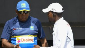 West Indies v Sri Lanka: Tourists delay play on day three of second Test amid ball-tampering row