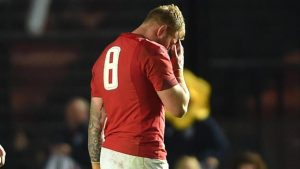 Ross Moriarty: Wales back-row given four-week ban after Argentina red card