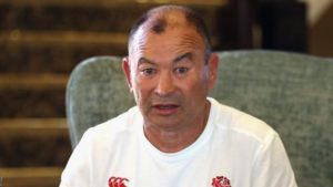 South Africa v England: Coach Eddie Jones has no concerns about position