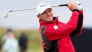 Injured Lawrie hopes son can take his place at Open