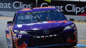 NASCAR at Sonoma Raceway LIVE updates, results: Denny Hamlin wins Stage 2 as AJ Allmendinger blows engine