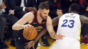 NBA Finals: Cavs' Kevin Love reportedly avoids suspension for leaving bench; Tristan Thompson's status unclear