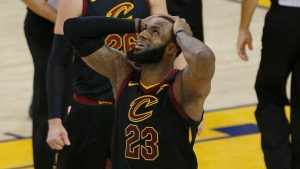 Cavs vs. Warriors: LeBron James' greatness once again held back by circumstances out of his control