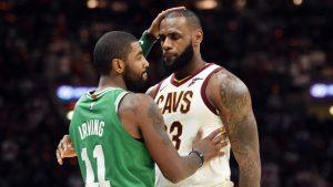 Kyrie Irving says LeBron James is 'definitely' NBA MVP; dubs James Harden 'the people's MVP'