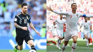 Cristiano Ronaldo vs. Lionel Messi at the 2018 World Cup: Argentina and Portugal eliminated
