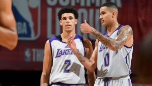 Sources: Lakers ask Ball, Kuzma to tone it down