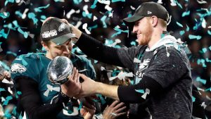 Eagles surprise ex-team secretary with SB ring
