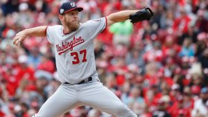 Nationals to place Strasburg (shoulder) on DL