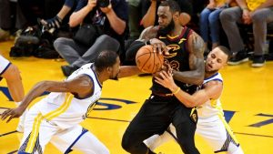 LeBron: 'Basketball IQ' key to toppling Warriors