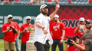 Ovechkin gets mulligan after sailing first pitch