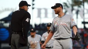 Marlins' Straily suspended 5 games, to appeal