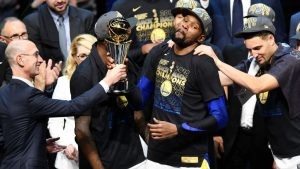 Silver gets Durant backlash but credits Warriors