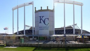Woman allegedly sets fires at Royals' park