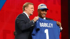 Saquon Barkley already has a plan in mind to make sure that he never goes broke