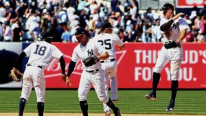 MLB Thursday scores, highlights, live team updates, news: Yankees finish sweep of Mariners