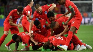 England knocks out Colombia on penalties