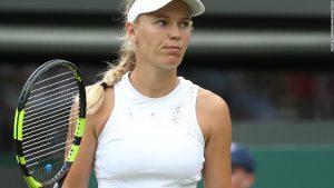 Wozniacki's Wimbledon woes continue