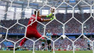 Goalkeeping calamity helps France into semifinals