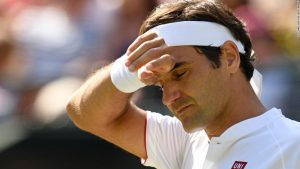 Federer crashes out of Wimbledon