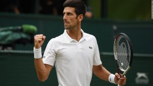 Djokovic outlasts Nadal to reach Wimbeldon final
