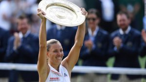 Kerber beats Williams to win first Wimbledon title
