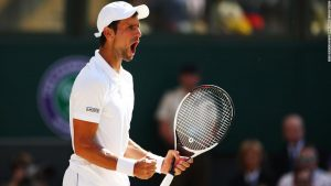 Djokovic breezes past Anderson to win fourth Wimbledon title
