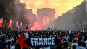France rocks after World Cup final win