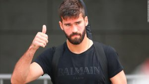 Alisson joins Liverpool in world record $84M deal